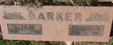 BARKER (WWI), CHARLES WILLIAM - Marion County, Oregon | CHARLES WILLIAM BARKER (WWI) - Oregon Gravestone Photos