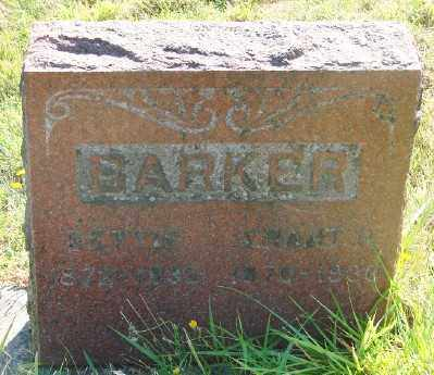 BARKER, ELIZABETH - Marion County, Oregon   ELIZABETH BARKER - Oregon Gravestone Photos
