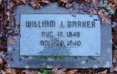 BARKER, WILLIAM JAMES - Marion County, Oregon | WILLIAM JAMES BARKER - Oregon Gravestone Photos