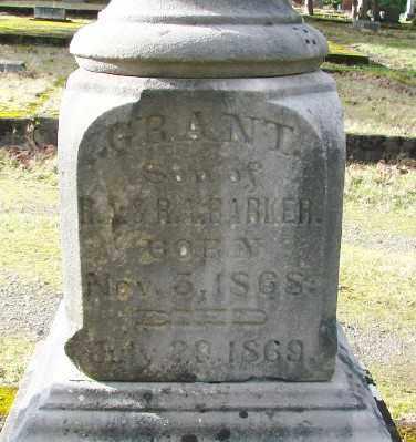 BARKER, WILLIAM GRANT - Marion County, Oregon | WILLIAM GRANT BARKER - Oregon Gravestone Photos