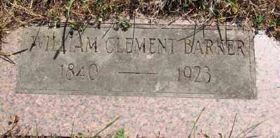 BARKER, WILLIAM CLEMENT - Marion County, Oregon   WILLIAM CLEMENT BARKER - Oregon Gravestone Photos