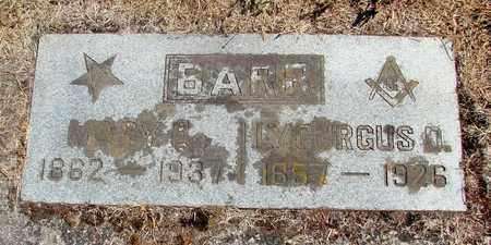 BARR, MARY E - Marion County, Oregon | MARY E BARR - Oregon Gravestone Photos