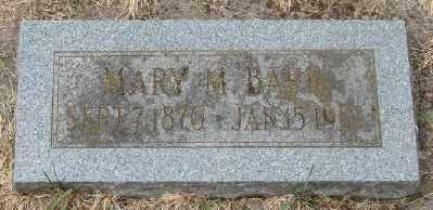 BARR, MARY M - Marion County, Oregon | MARY M BARR - Oregon Gravestone Photos