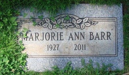 BARR, MARJORIE ANN - Marion County, Oregon | MARJORIE ANN BARR - Oregon Gravestone Photos