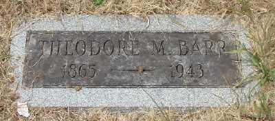BARR, THEODORE M - Marion County, Oregon   THEODORE M BARR - Oregon Gravestone Photos