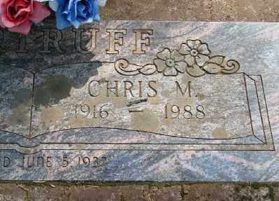 BARTRUFF, CHRIS MARTIN - Marion County, Oregon | CHRIS MARTIN BARTRUFF - Oregon Gravestone Photos