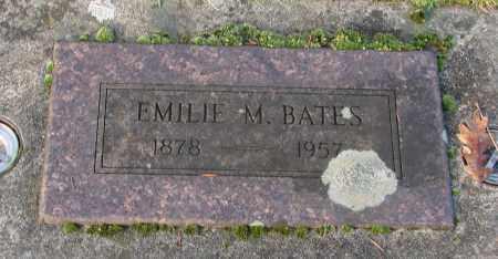 BATES, EMILIE M - Marion County, Oregon | EMILIE M BATES - Oregon Gravestone Photos
