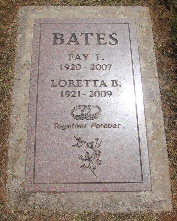 BATES, LORETTA BELLE - Marion County, Oregon | LORETTA BELLE BATES - Oregon Gravestone Photos