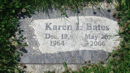 BATES, KAREN I - Marion County, Oregon | KAREN I BATES - Oregon Gravestone Photos
