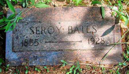 BATES, SEROY - Marion County, Oregon | SEROY BATES - Oregon Gravestone Photos