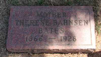BATES, THERESE - Marion County, Oregon | THERESE BATES - Oregon Gravestone Photos