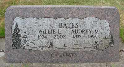 BATES, WILLIE L - Marion County, Oregon | WILLIE L BATES - Oregon Gravestone Photos