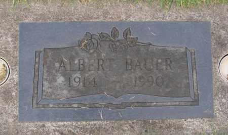 BAUER, ALBERT - Marion County, Oregon | ALBERT BAUER - Oregon Gravestone Photos