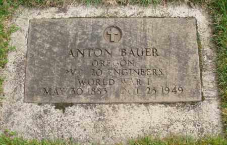 BAUER, ANTON - Marion County, Oregon | ANTON BAUER - Oregon Gravestone Photos