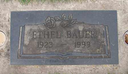 BAUER, ETHEL - Marion County, Oregon | ETHEL BAUER - Oregon Gravestone Photos