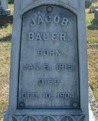 BAUER, JACOB - Marion County, Oregon | JACOB BAUER - Oregon Gravestone Photos