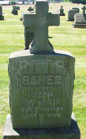 BAUER, JOSEPH - Marion County, Oregon | JOSEPH BAUER - Oregon Gravestone Photos