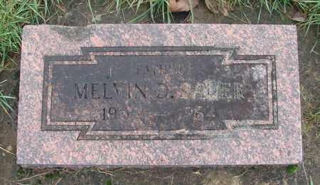 BAUER, MELVIN DARWIN - Marion County, Oregon | MELVIN DARWIN BAUER - Oregon Gravestone Photos
