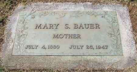 BAUER, MARY S - Marion County, Oregon | MARY S BAUER - Oregon Gravestone Photos