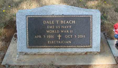 BEACH (WWII), DALE T - Marion County, Oregon | DALE T BEACH (WWII) - Oregon Gravestone Photos