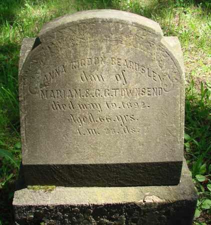BEARDSLEY, ANNA - Marion County, Oregon | ANNA BEARDSLEY - Oregon Gravestone Photos
