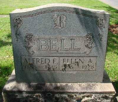 BELL, ELLEN A - Marion County, Oregon | ELLEN A BELL - Oregon Gravestone Photos