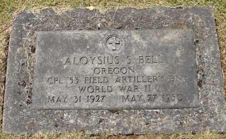 BELL, ALOYSIUS - Marion County, Oregon | ALOYSIUS BELL - Oregon Gravestone Photos