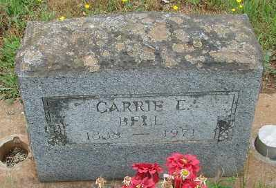 BELL, CARRIE ELNORA - Marion County, Oregon | CARRIE ELNORA BELL - Oregon Gravestone Photos
