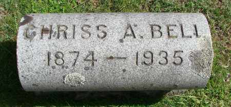 BELL, CHRISS ALEXANDER - Marion County, Oregon | CHRISS ALEXANDER BELL - Oregon Gravestone Photos