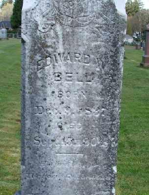 BELL, EDWARD W - Marion County, Oregon | EDWARD W BELL - Oregon Gravestone Photos