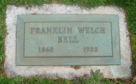 BELL, FRANKLIN WELCH - Marion County, Oregon | FRANKLIN WELCH BELL - Oregon Gravestone Photos