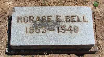 BELL, HORAGE E - Marion County, Oregon | HORAGE E BELL - Oregon Gravestone Photos