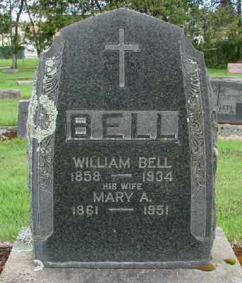 BELL, WILLIAM - Marion County, Oregon | WILLIAM BELL - Oregon Gravestone Photos