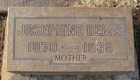 BEMIS, JOSEPHINE - Marion County, Oregon   JOSEPHINE BEMIS - Oregon Gravestone Photos