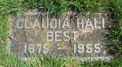 HALL, CLAUDIA - Marion County, Oregon | CLAUDIA HALL - Oregon Gravestone Photos