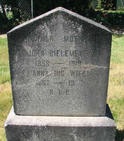BIELEMEYER, JOHN - Marion County, Oregon | JOHN BIELEMEYER - Oregon Gravestone Photos