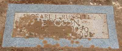 RUSSELL BOOTEN, PEARL L - Marion County, Oregon | PEARL L RUSSELL BOOTEN - Oregon Gravestone Photos