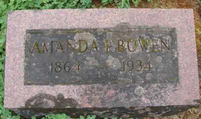 BOWEN, AMANDA IRENE - Marion County, Oregon | AMANDA IRENE BOWEN - Oregon Gravestone Photos