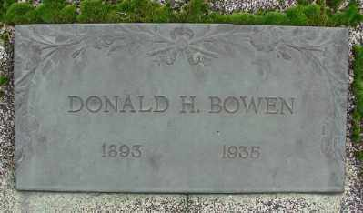 BOWEN, DONALD H - Marion County, Oregon | DONALD H BOWEN - Oregon Gravestone Photos