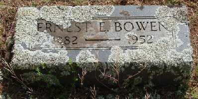 BOWEN, ERNEST ELMER - Marion County, Oregon | ERNEST ELMER BOWEN - Oregon Gravestone Photos