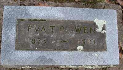 BOWEN, EVA T - Marion County, Oregon | EVA T BOWEN - Oregon Gravestone Photos