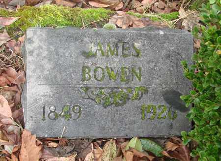 BOWEN, JAMES - Marion County, Oregon | JAMES BOWEN - Oregon Gravestone Photos