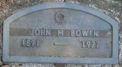 BOWEN, JOHN M - Marion County, Oregon | JOHN M BOWEN - Oregon Gravestone Photos