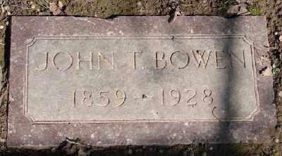 BOWEN, JOHN THOMAS - Marion County, Oregon | JOHN THOMAS BOWEN - Oregon Gravestone Photos