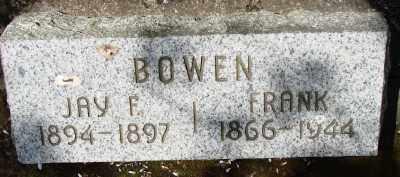 BOWEN, FRANK - Marion County, Oregon | FRANK BOWEN - Oregon Gravestone Photos