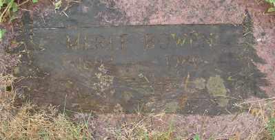 BOWEN, MERLE - Marion County, Oregon | MERLE BOWEN - Oregon Gravestone Photos