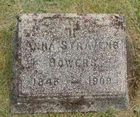 BOWERS, ANNA - Marion County, Oregon | ANNA BOWERS - Oregon Gravestone Photos