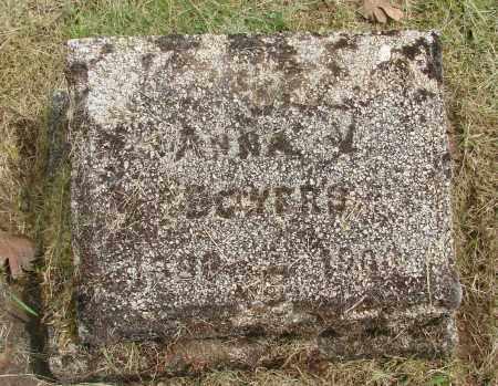 BOWERS, ANNA V - Marion County, Oregon   ANNA V BOWERS - Oregon Gravestone Photos