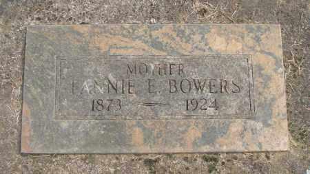 BOWERS, FANNIE E - Marion County, Oregon | FANNIE E BOWERS - Oregon Gravestone Photos