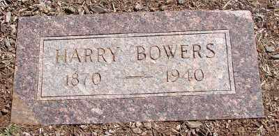 BOWERS, HARRY W - Marion County, Oregon | HARRY W BOWERS - Oregon Gravestone Photos